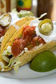picture of mexican food  - taco close - JPG