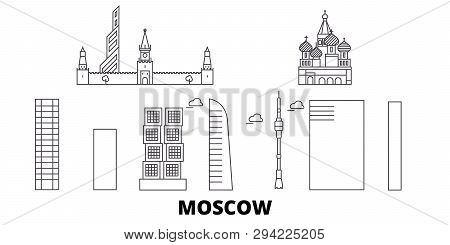 Russia Moscow City Line Travel
