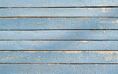 Blue Wood Background With Weathered Paint,wood Texture poster