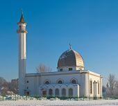 stock photo of sankt-peterburg  - New mosque in Sankt - JPG