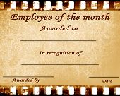 picture of employee month  - employee of the month - JPG