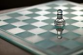 picture of underdog  - Pawn chess piece as a business concept series with themes of strategy - JPG