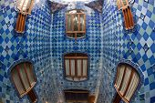 Details from Casa Batllo. Barcelona - Spain