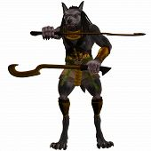 Anubis Fantasy Egyptian Monster