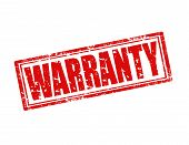 Warranty-stamp poster