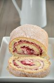 picture of tort  - Swiss Roll  - JPG
