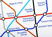 London Underground Map Detail