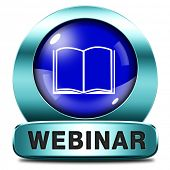 webinar online internet web video conference meeting or workshop live video chat