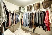 stock photo of clothes hanger  - Walk - JPG