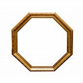 Antique Hexahedron Frame