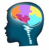 picture of cognitive  - Illustration of a child - JPG