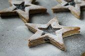 picture of shortbread  - shortbread stars  - JPG