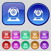 picture of video chat  - Webcam sign icon - JPG