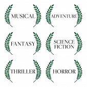 picture of storyboard  - Laurel seals with different film genres 5 - JPG
