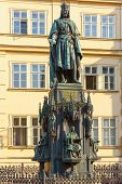 picture of emperor  - Statue of Charles IV or Karel IV - JPG