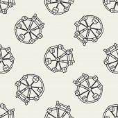 picture of ferris-wheel  - Ferris Wheel Doodle - JPG