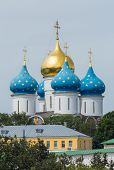 picture of trinity  - Dormition Cathedral in the Trinity Lavra of St - JPG