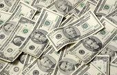 Horizontal Money Background