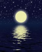 picture of full_moon  - magic night - JPG