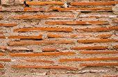 Brick Wall And Mortar poster