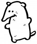 stock photo of shrew  - shrew cartoon - JPG