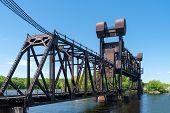 Bnsf Railroad Saint Croix River Crossing Bridge poster