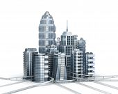 picture of magistrate  - Skyscrapers and magistrals - JPG