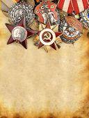 Постер, плакат: Ii мировой войны российские военные медали