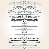 pic of decorative  - Decorative Rule Lines - JPG