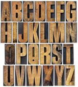 pic of letter b  - complete English alphabet  - JPG