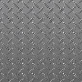 Diamond Plated Seamless metal sheet. Vector