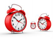 picture of tick tock  - Classic alarm clock  - JPG