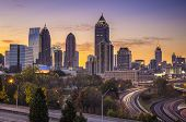 pic of sunrise  - Atlanta - JPG