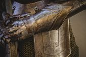 picture of armor suit  - metal gloves - JPG