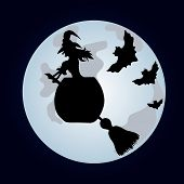 picture of sweeper  - Happy Halloween Poster - JPG
