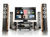 pic of home theater  - Home cinemar system - JPG
