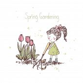 stock photo of spring-cleaning  - spring gardening theme - JPG