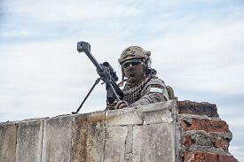 stock photo of sniper  - U - JPG