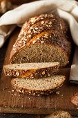 picture of whole-wheat  - Organic Homemade Whole Wheat Bread Ready to Eat - JPG