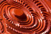 stock photo of maori  - New Zealand Maori carving  - JPG