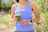 picture of smoothies  - Green smoothie  - JPG