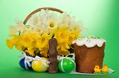 picture of easter candy  - Marzipan candies - JPG