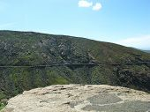 picture of canary-islands  - The highway  between Betancuria and Pajares on the Canary Island Fuerteventura - JPG