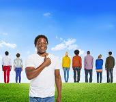 stock photo of diversity  - Diverse Diversity Ethnic Ethnicity Variation Unity Togetherness Concept - JPG
