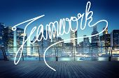 pic of collaboration  - Teamwork Team Collaboration Support Member Unity Concept - JPG