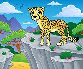 image of cheetah  - Cheetah theme image 1  - JPG