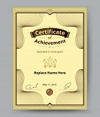 picture of certificate  - luxury certificate border Certificate template for replace name and etc - JPG