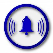 picture of blue-bell  - Bell icon - JPG