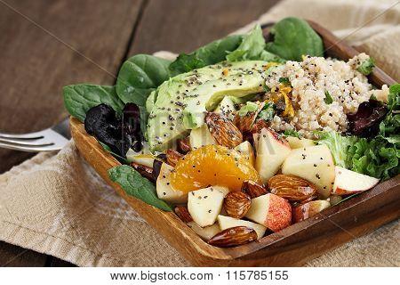 Quinoa And Fruit Salad