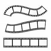 Постер, плакат: Film strip vector